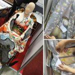 「早咲羅」車いすでも簡単に着られる着物