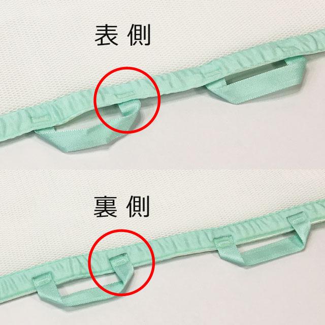 【必ず表側きで】リーフを使用する時は必ず表側で使用してください。裏側で使用すると使いにくくんなります。