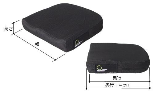 マトリックスViのバリエーションは2つ。幅40×奥40×高8cm/幅35×奥38×高8cm。
